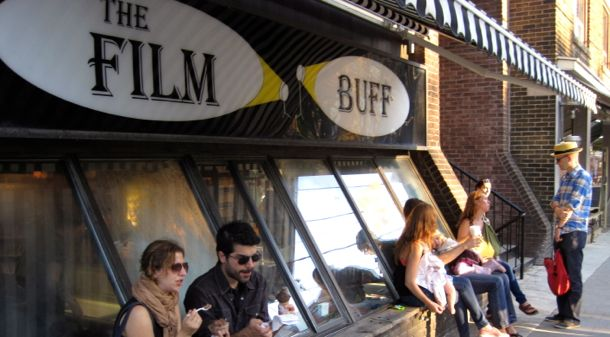 Roncesvalles Village, The Film Buff, Things to do in Toronto.