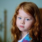Best photographer in Toronto, Ian Taylor. Red headed girl portrait.