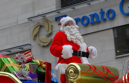 What to do in Toronto. Santa Claus Parade.