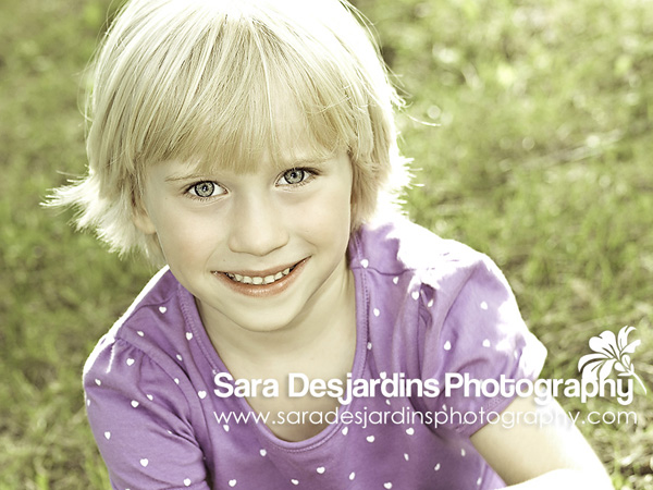 Photographer in Toronto Sara Desjardins girl portrait