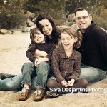 Photographer in Toronto Sara Desjardins family portrait