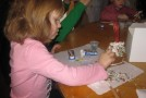 Indoor activities for kids, Gingerbread house making