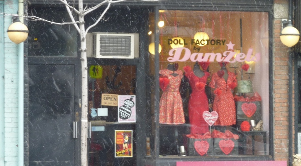 Toronto Fashion, Doll Factory exterior