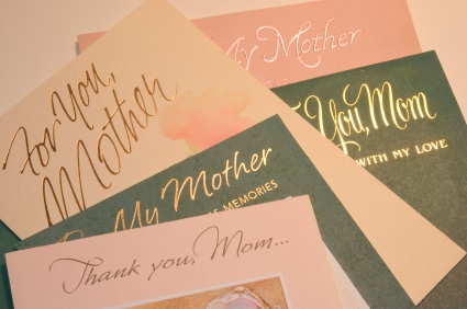 5 great gift ideas for Mom, Mother's day card