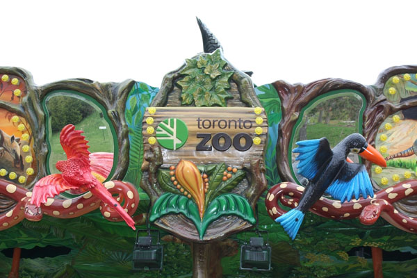 Toronto Zoo sign