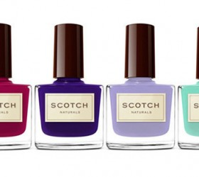 natural skincare, Holly & Ivy, Scotch nail polish