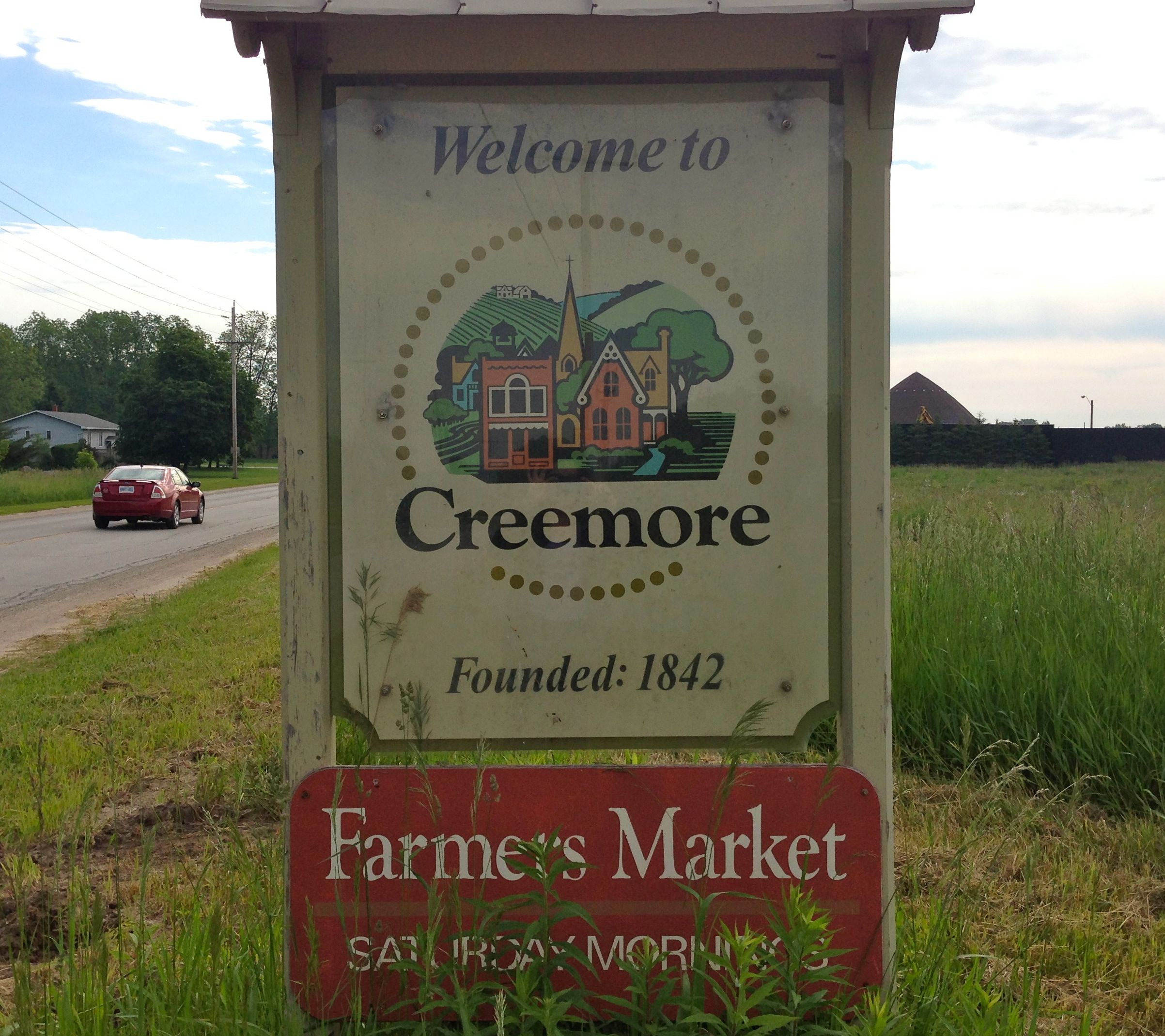 Creemore sign
