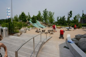 kid-friendly toronto corktown common slides
