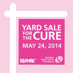 what to do in toronto yard sale for the cure