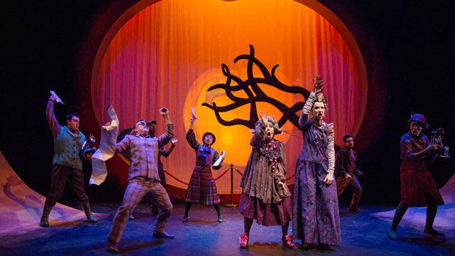 Children's Theatre Companies in Toronto: James and the Giant Peach @ Young Peoples Theatre