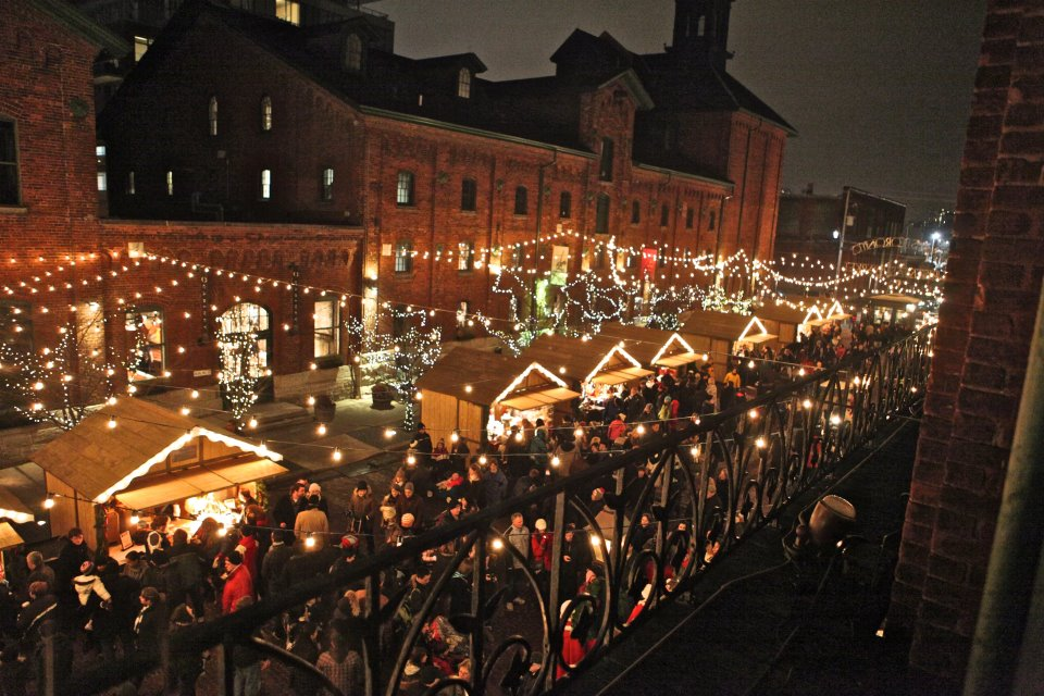 Things to do in Toronto Lowe's Christmas Market