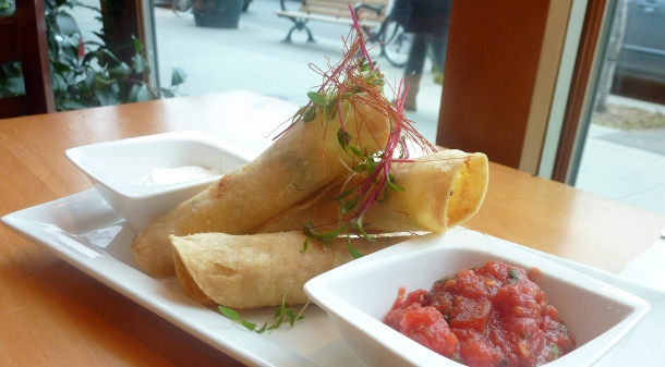 Taquitos at the Combine Eatery