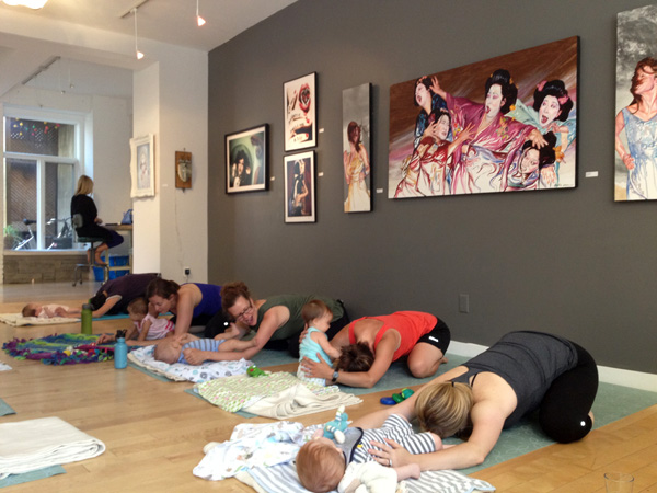 Mom and Baby classes, Yoga Mama