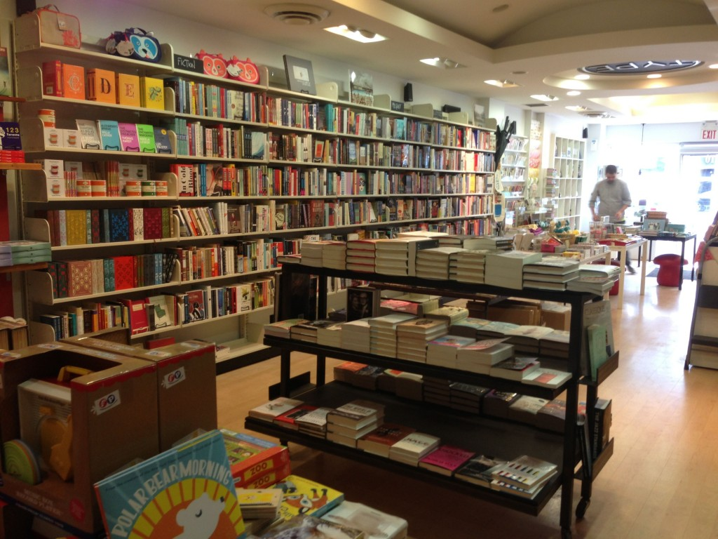 where to shop in toronto type books