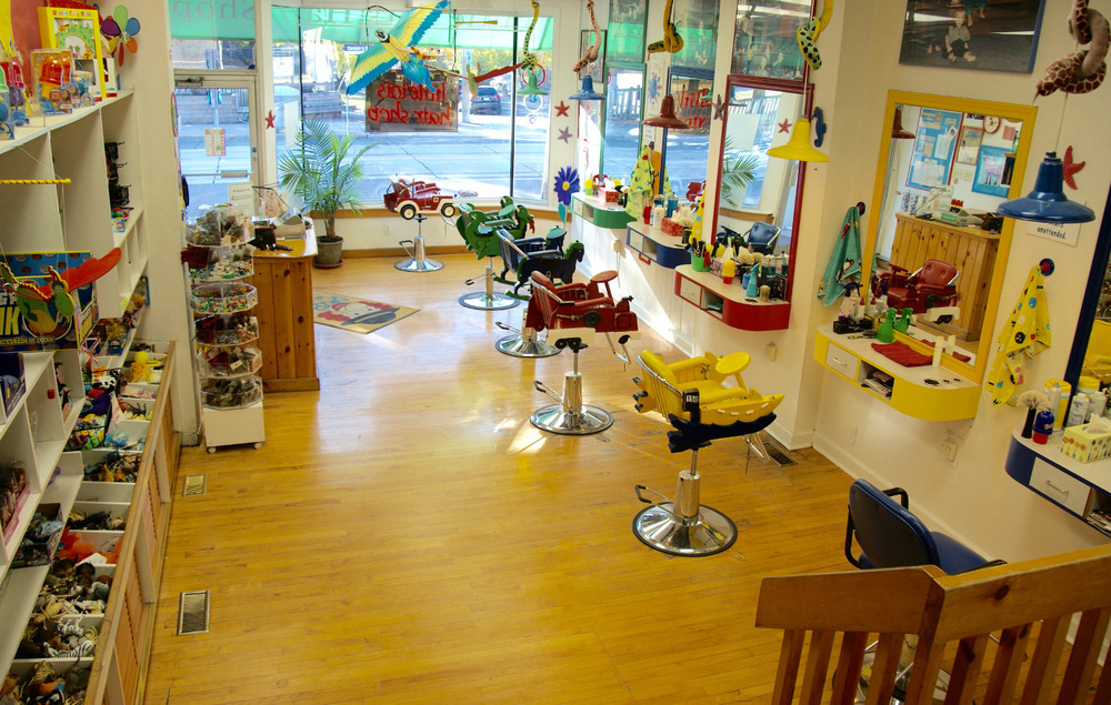 Best Kids Haircuts and Barbers in Toronto: Little Tots Hair Shop