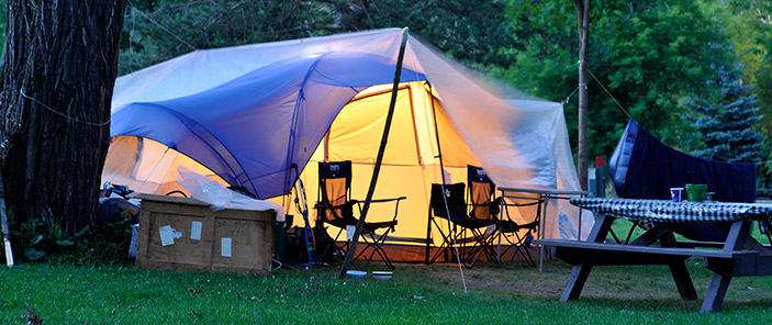 Toronto Family-friendly camping: Glen Rouge