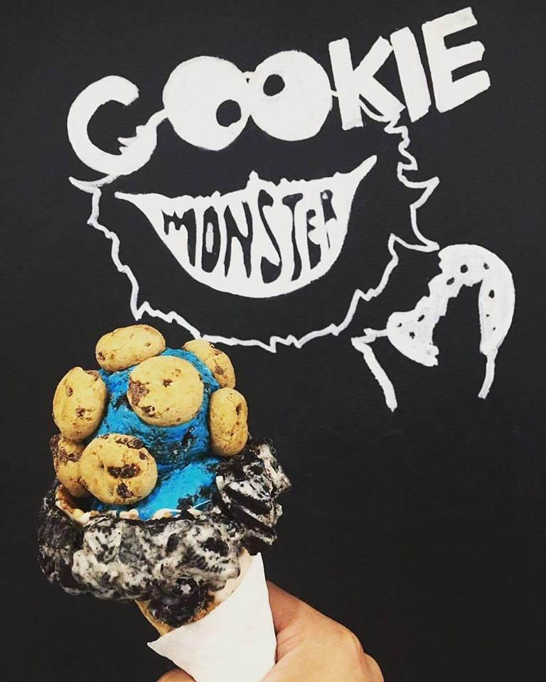 fugo cookie monster
